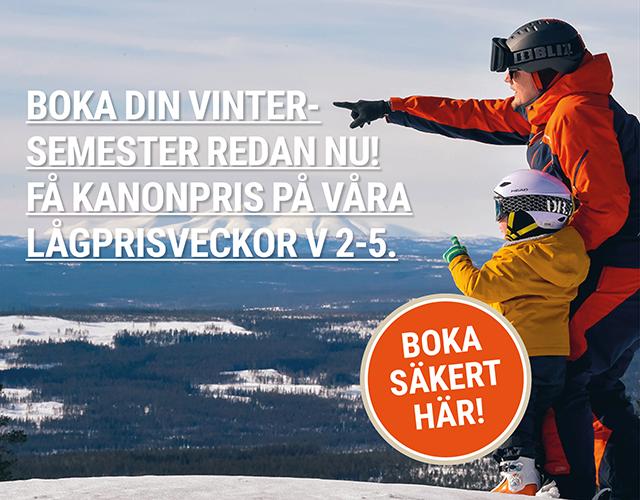 Boka din vintersemester redan nu!